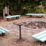 Bench Around Fire Pit