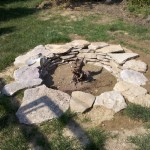 Build a Fire Pit with Rocks