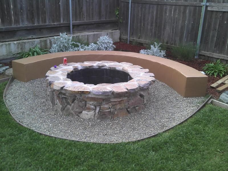 Build Backyard Fire Pit Easily