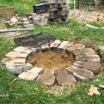 Inground Fire Pit Plans Fire Pit Design Ideas