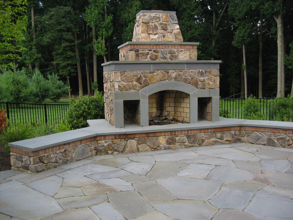 Chimney Outdoor Fire Pit