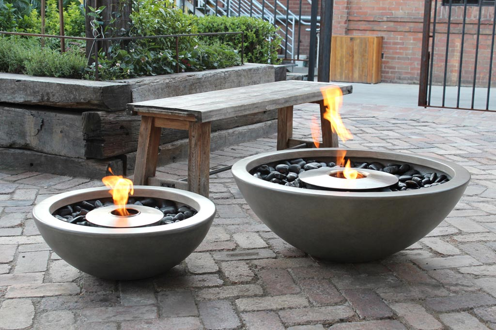 Concrete Fire Pit Bowl Outdoor Goods