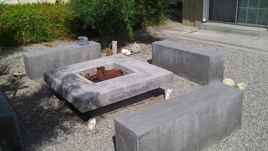 Easy Way to Make a Concrete Fire Pit | Fire Pit Design Ideas
