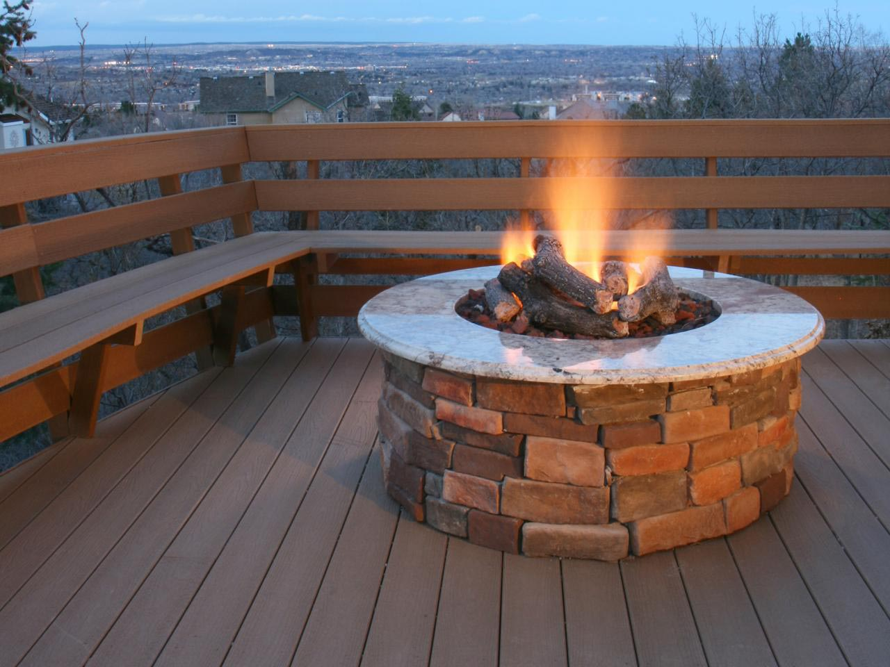 Concrete gas fire pit fire pit design ideas for Best fire pit design