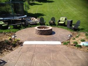 Concrete Outdoor Fire Pit
