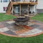 Concrete Patio Fire Pit