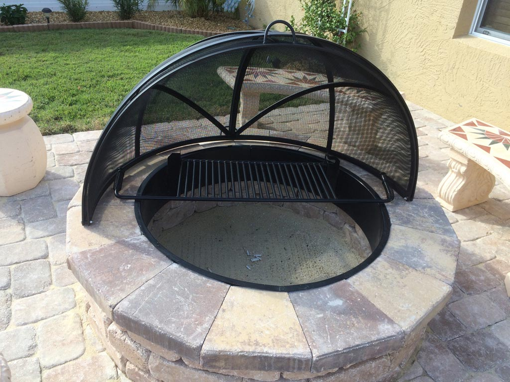 Custom Fire Pit Screens