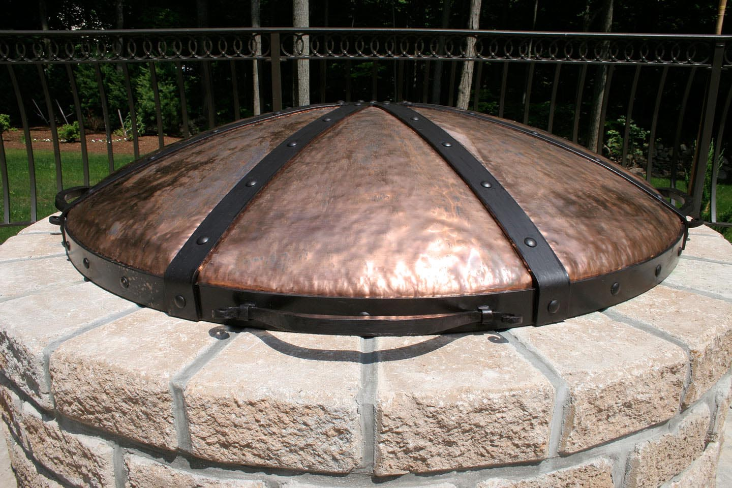 Custom Made Fire Pit Covers