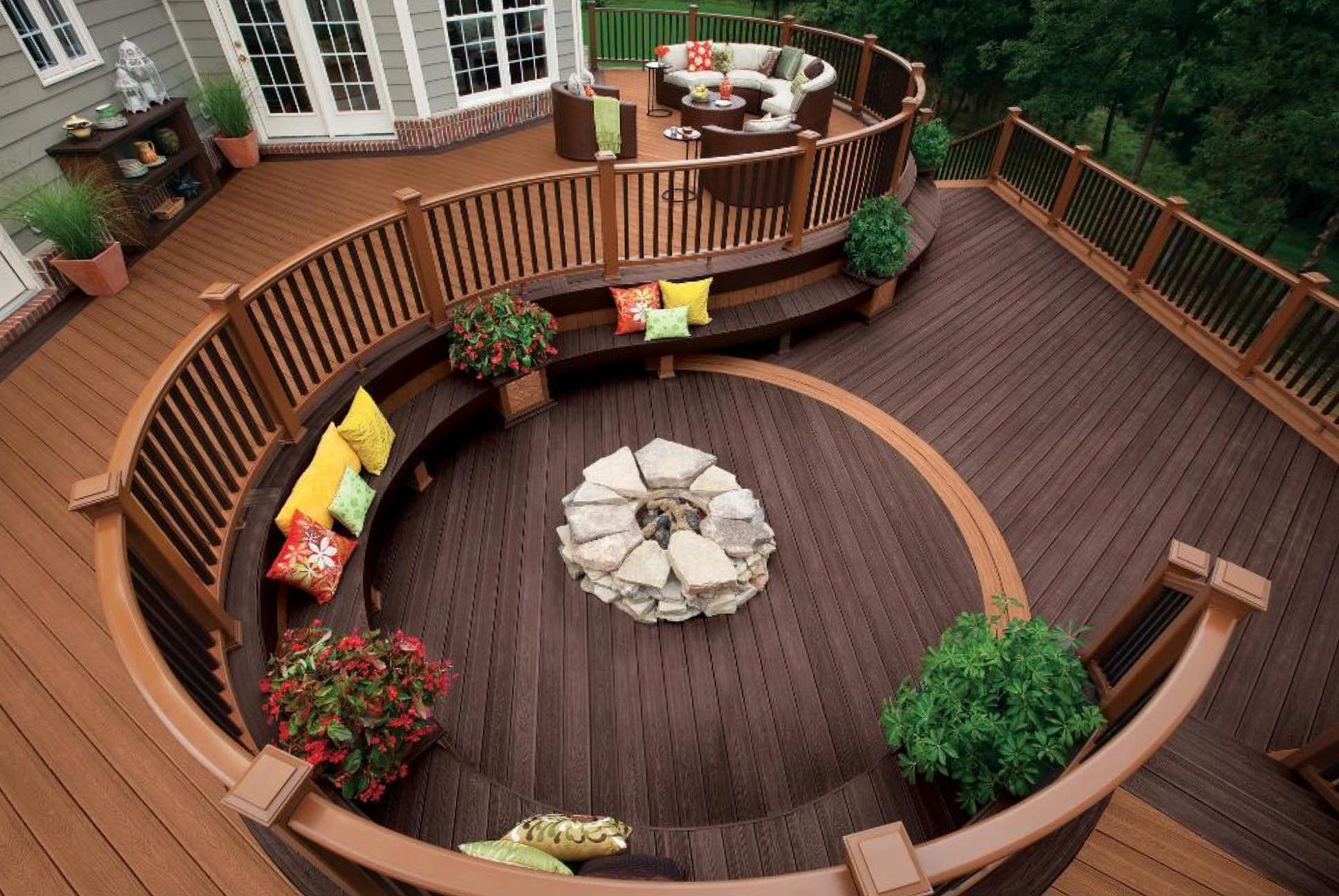 It is Easy to Find the Right Solution with Deck Fire Pit | Fire ...
