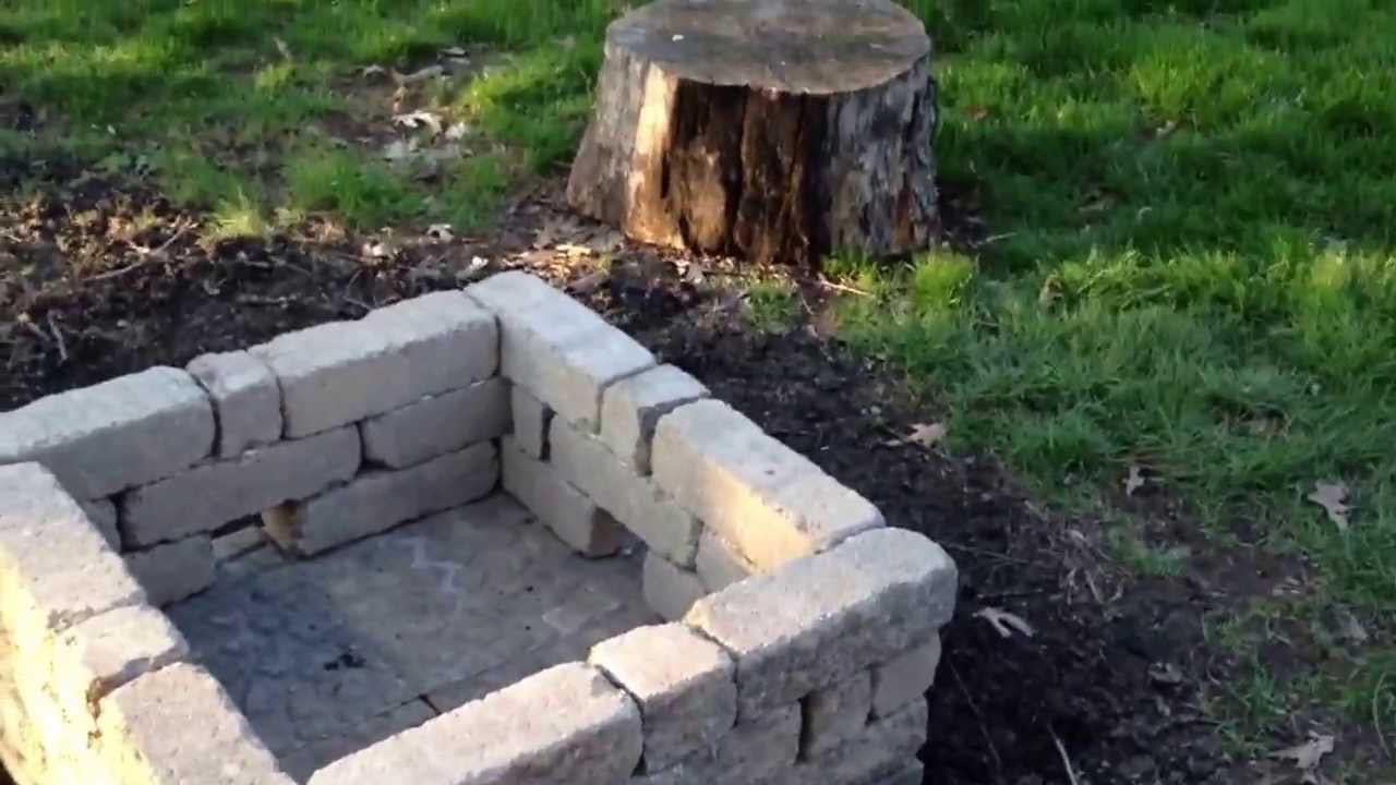 The best diy concrete fire pit fire pit design ideas for How to build a fire pit with concrete blocks