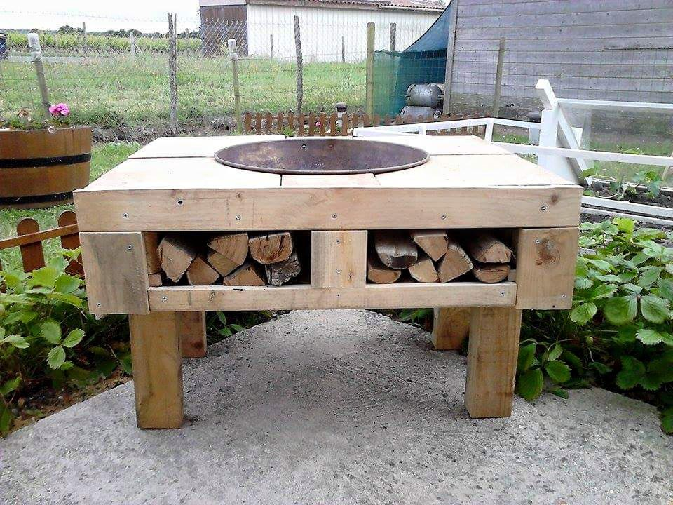 The Best DIY Concrete Fire Pit | Fire Pit Design Ideas