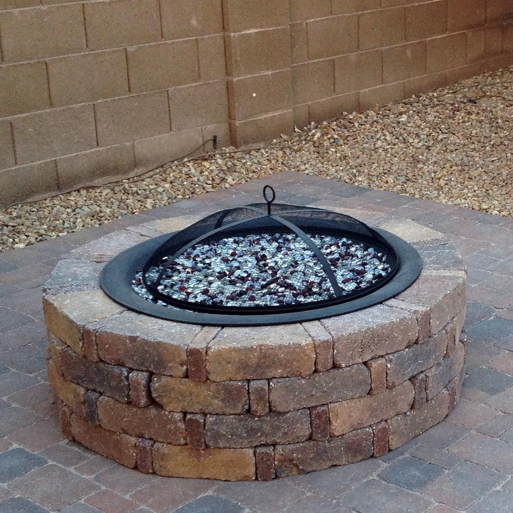 The brilliant diy propane fire pit decoration fire pit for Fire pit ideas