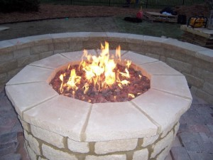 DIY Gas Fire Pit Ideas