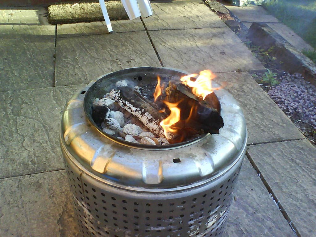 Diy gas fire pit insert fire pit design ideas for Materials needed to build a fire pit