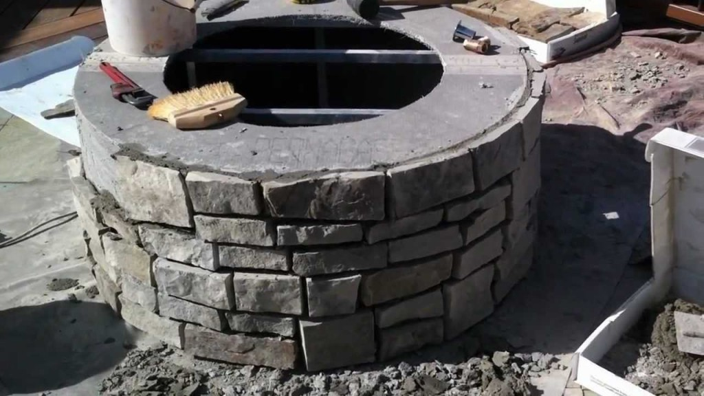 DIY Gas Fire Pit Instructions