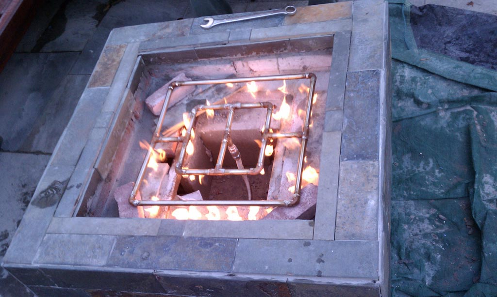DIY Gas Fire Pit Parts Fire Pit Design Ideas