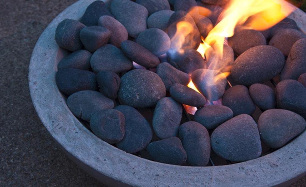 DIY Modern Concrete Fire Pit