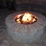 DIY Outdoor Brick Fire Pit