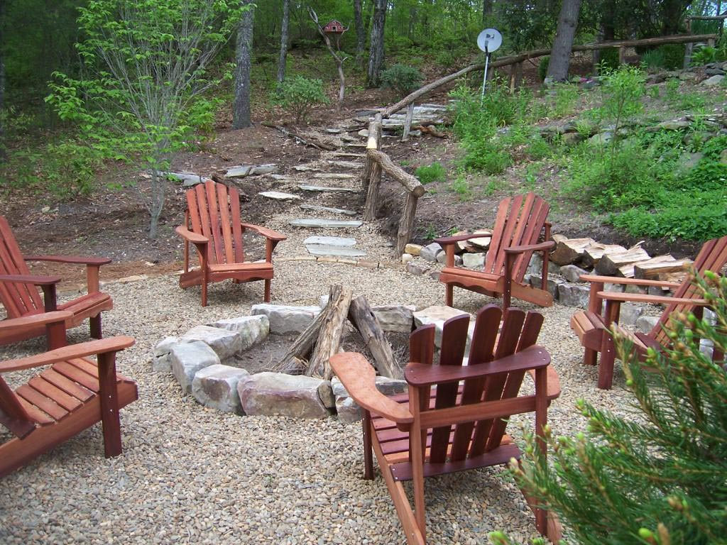 Ideas diy outdoor fire pit designs Appealing art garden ideas