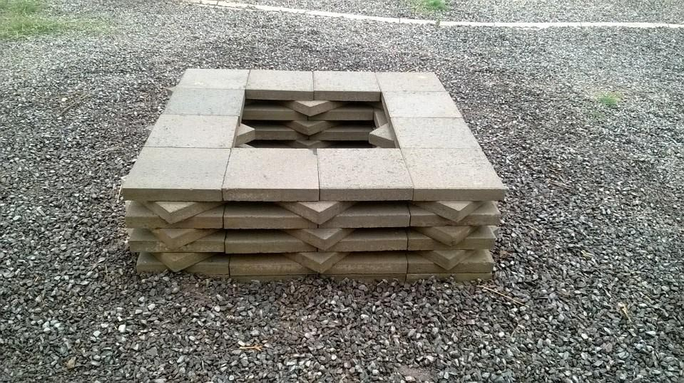how to build a step wit bricks