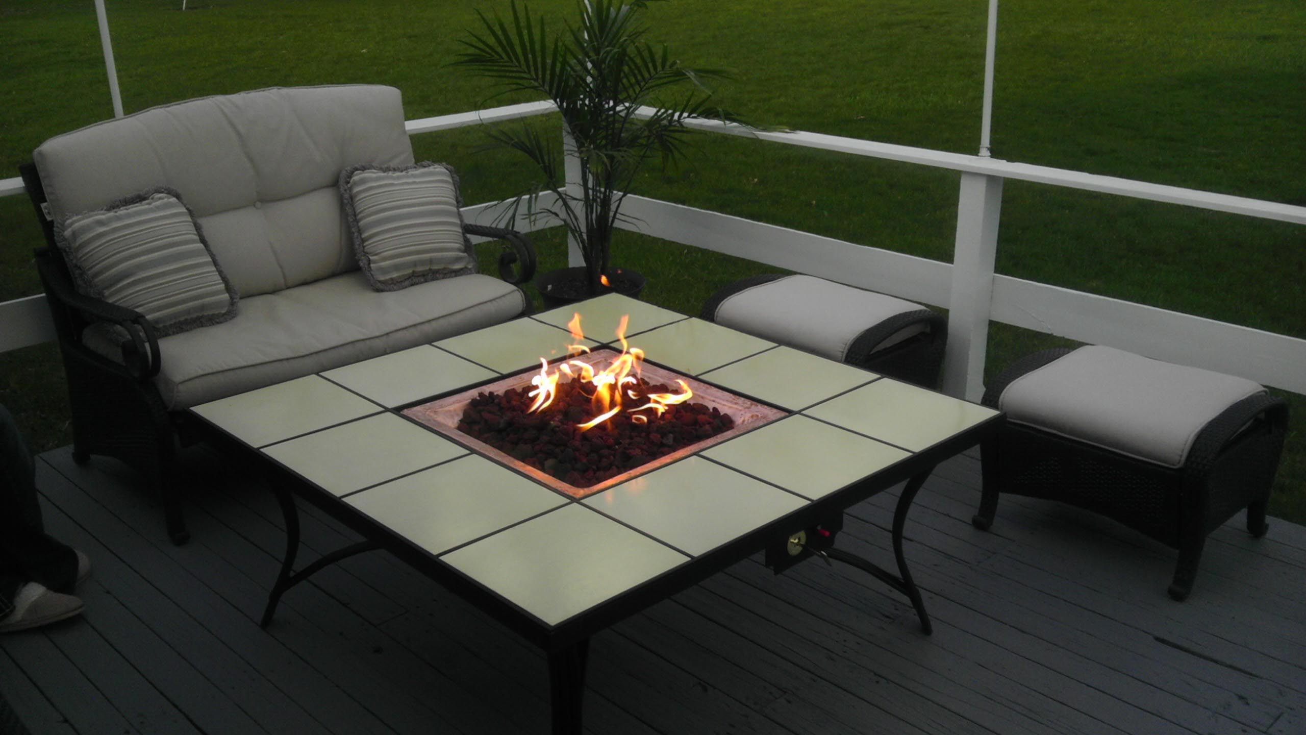 DIY Propane Fire Pit Kit