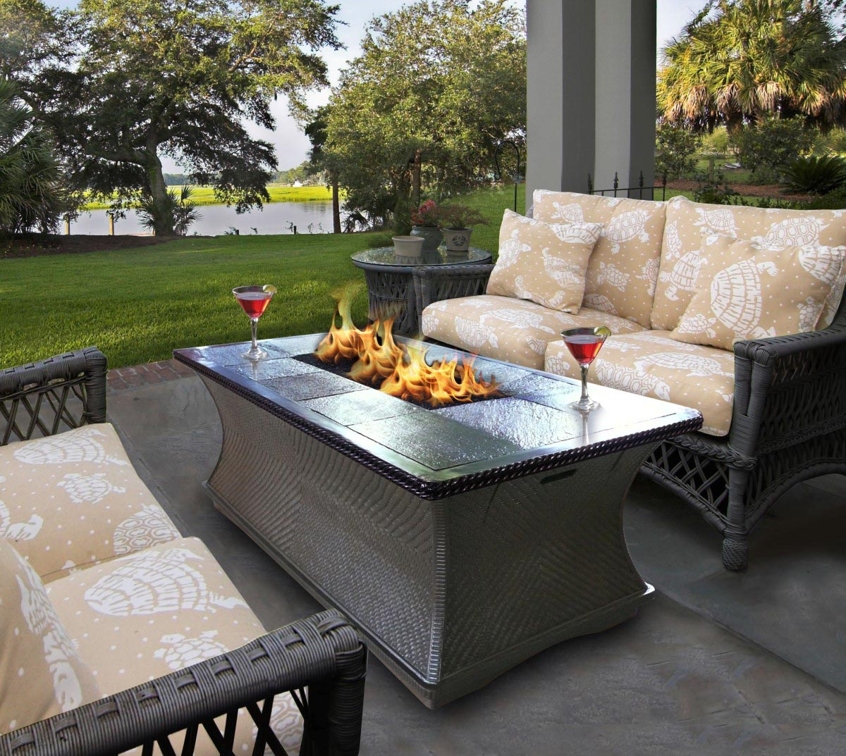 How To Make A DIY Fire Pit Table Top Design Ideas