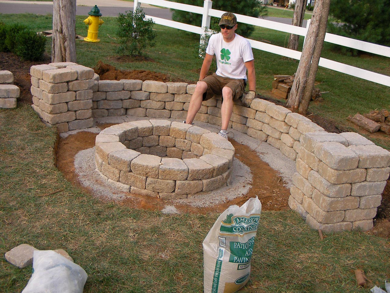 easy backyard fire pit designs fire pit design ideas