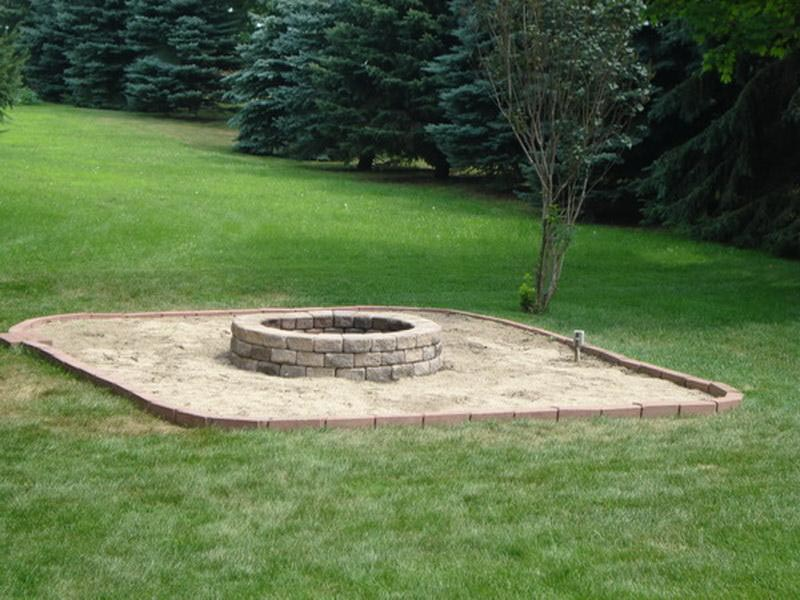 Garden Design With Fire Pit Backyard Ideas Fire Pit Design Ideas With  Landscaping With Rock From