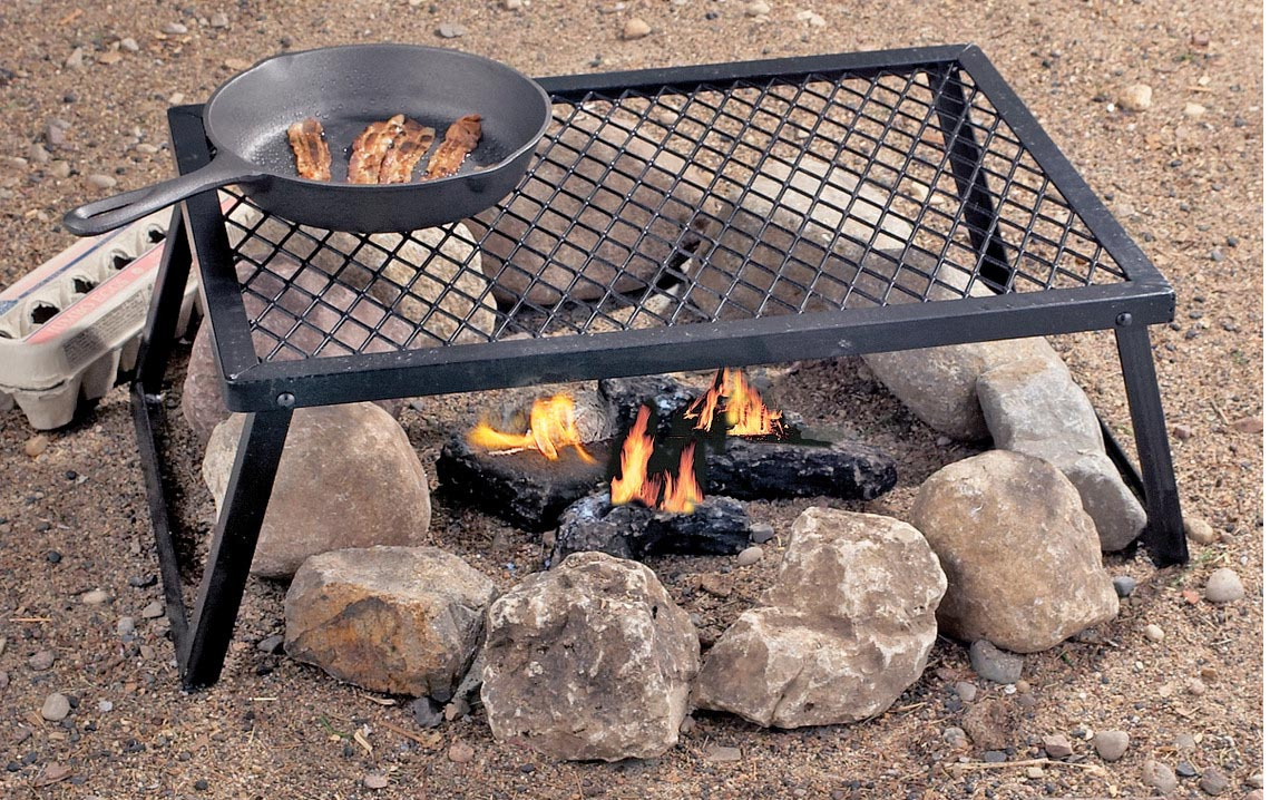 What Are the Pros And Cons of Fire Pit Cooking? : Fire Pit Cooking Grate. Fire pit cooking grate. fire pit ideas