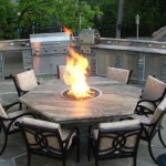 Fire Pit Furniture Set
