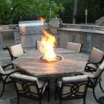Fire Pit Furniture Set