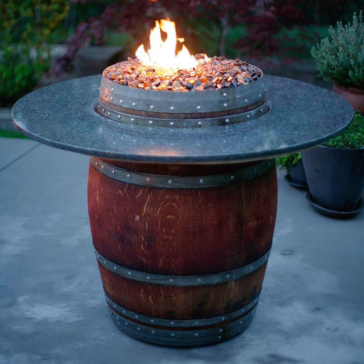 Fire Pit Glass Rocks Design Ideas