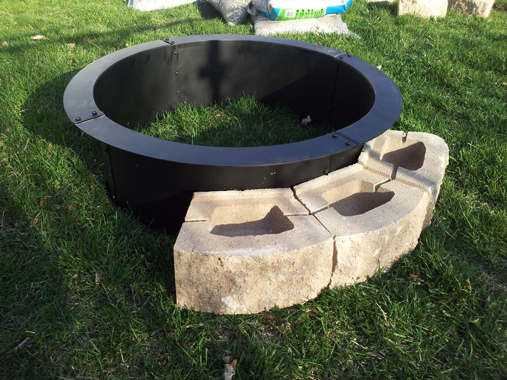 metal fire pit ring as a truly great decision for