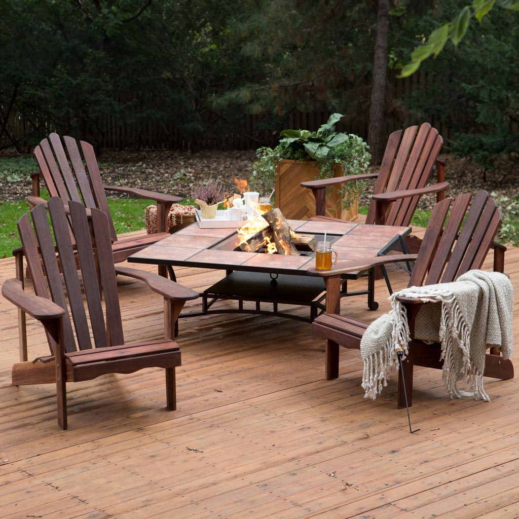Fire Pit Outdoor Furniture Sets