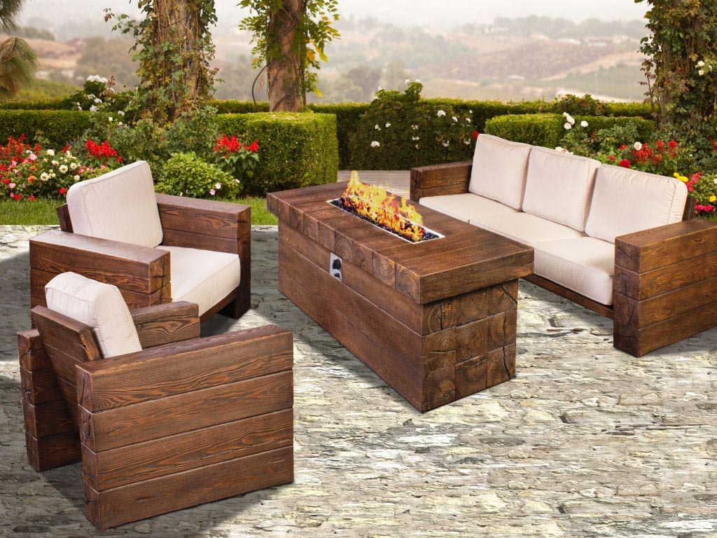 Fire Pit Seating Set Fire Pit Design Ideas
