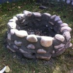 Fire Pit with Rocks