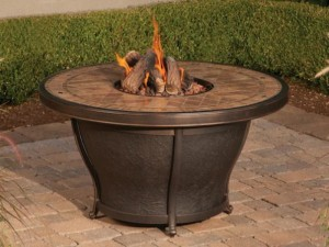 Gas Fire Pit for Deck