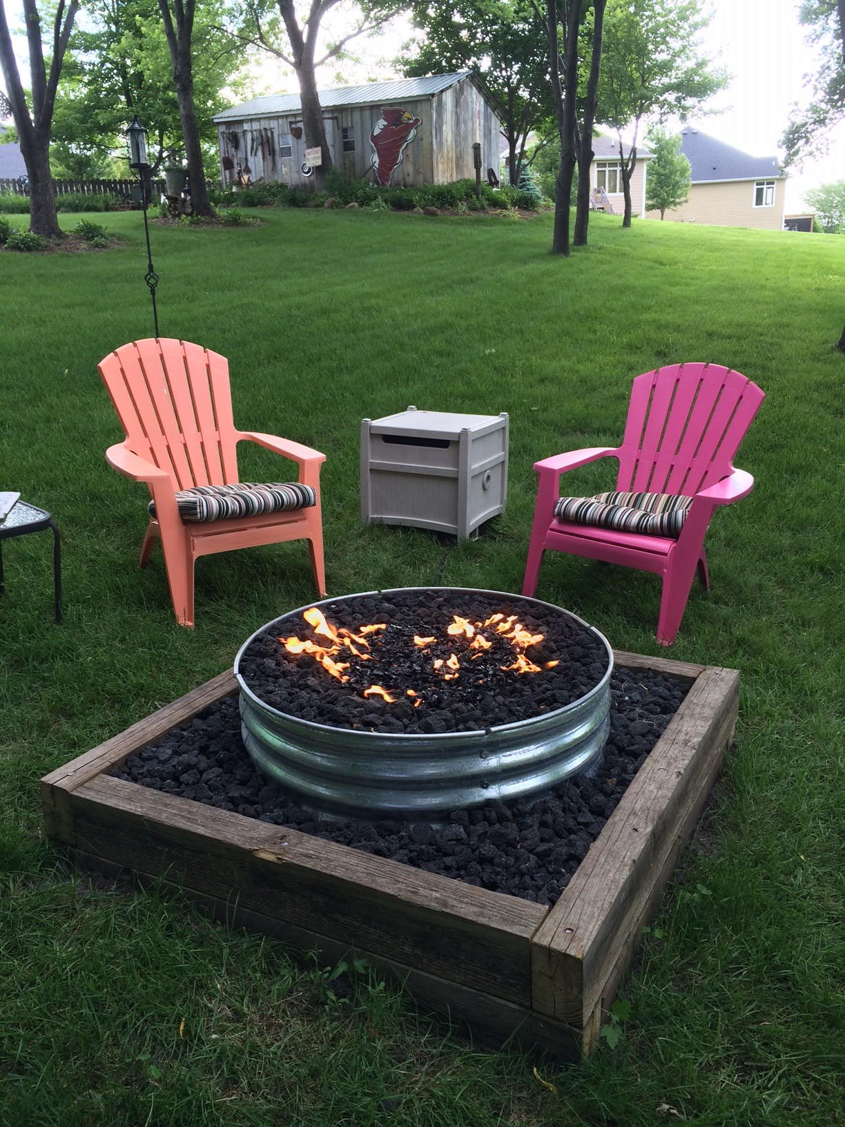 Fire Pit Ring Insert for Comfort Vacation Wherever You are ...