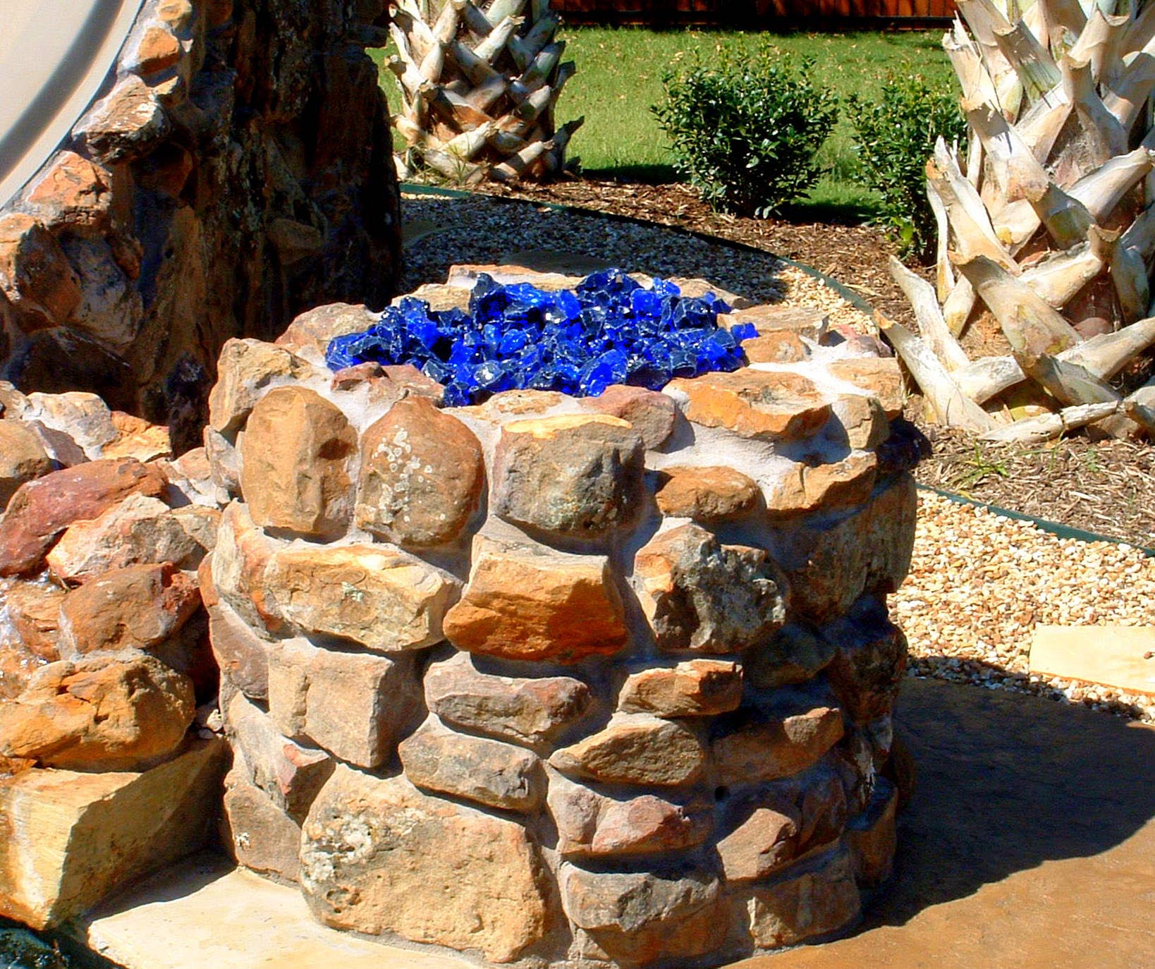 Glass Fire Pit Rocks