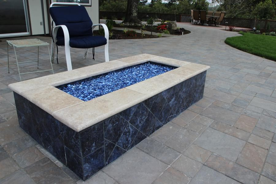 fire pit glass stones home depot rocks rock calculator