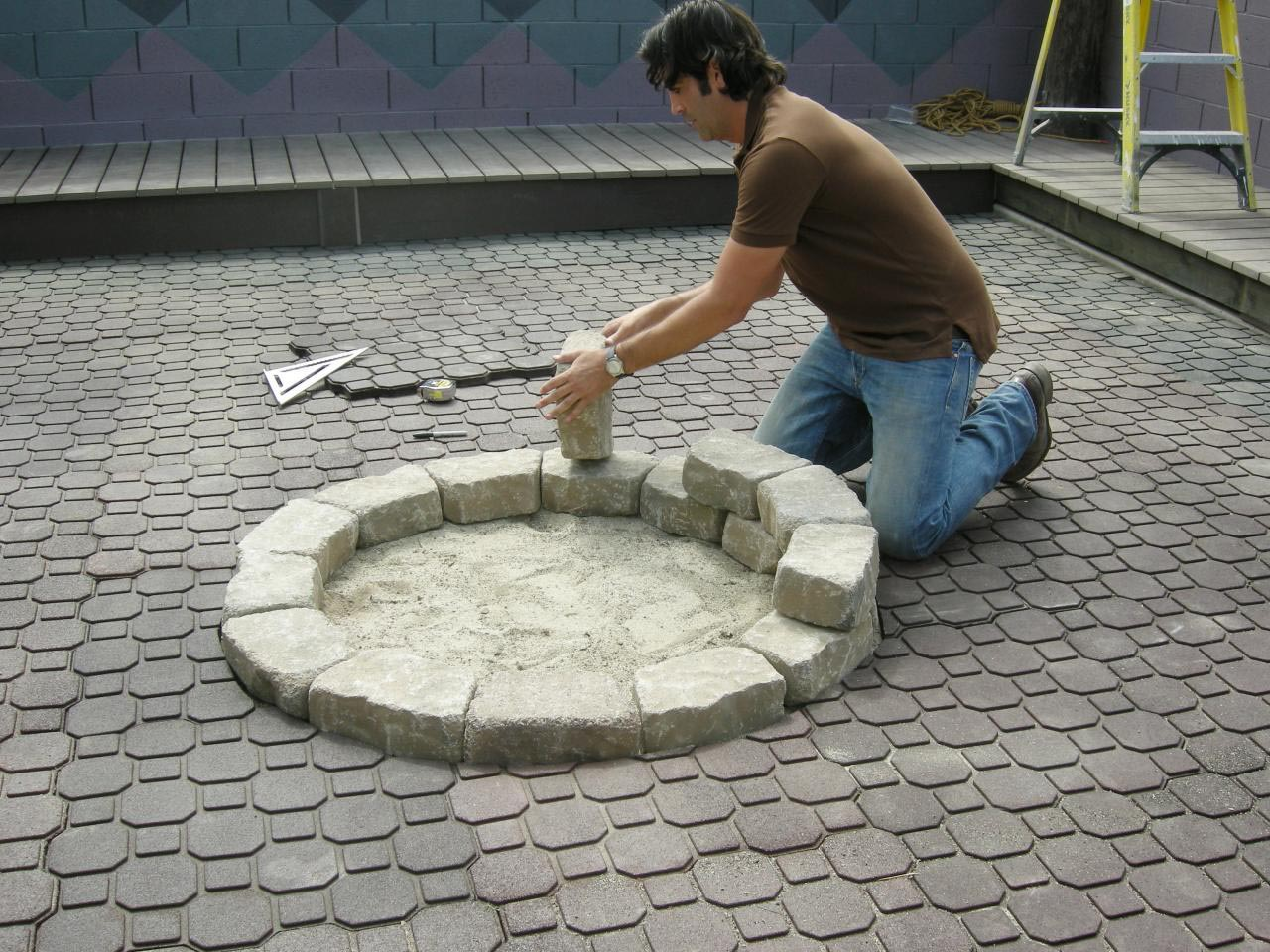 how do you make a fire pit fire pit design ideas