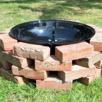 How to Build a Brick Fire Pit Grill