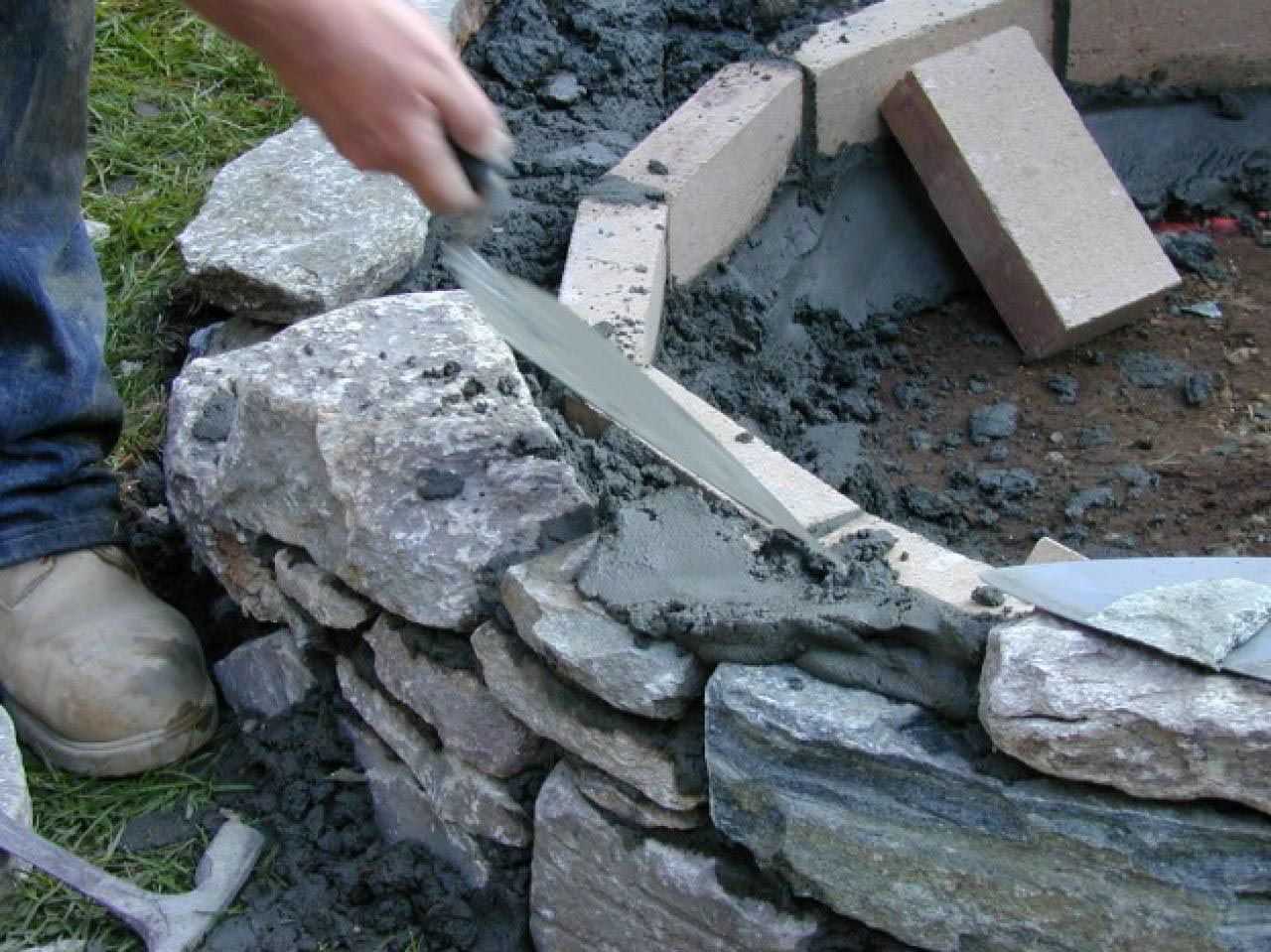 How To Build A Brick Fire Pit Without Mortar Fire Pit