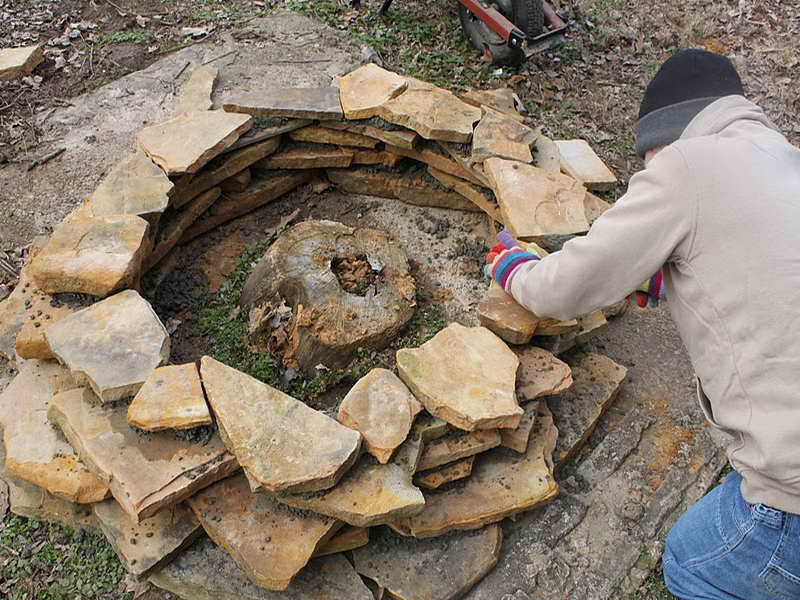 How To Build An Easy Fire Pit Fire Pit Design Ideas