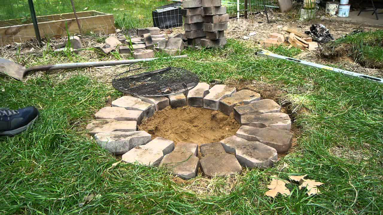 how to make a cheap fire pit fire pit design ideas