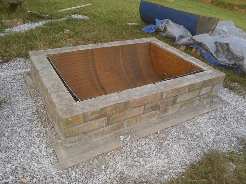 How to Make a Fire Pit Bricks