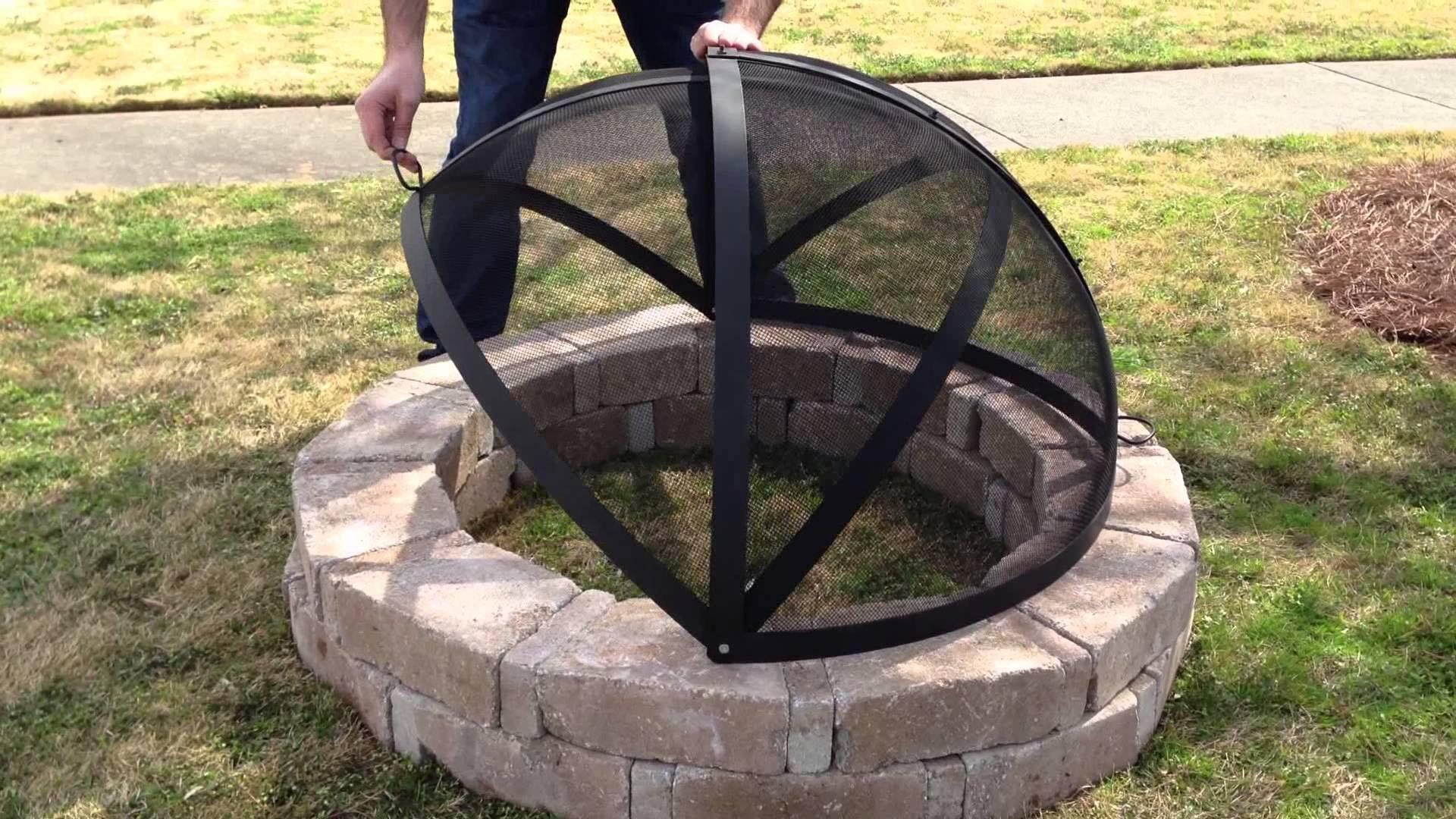 How To Make A Fire Pit Screen | Fire Pit Design Ideas