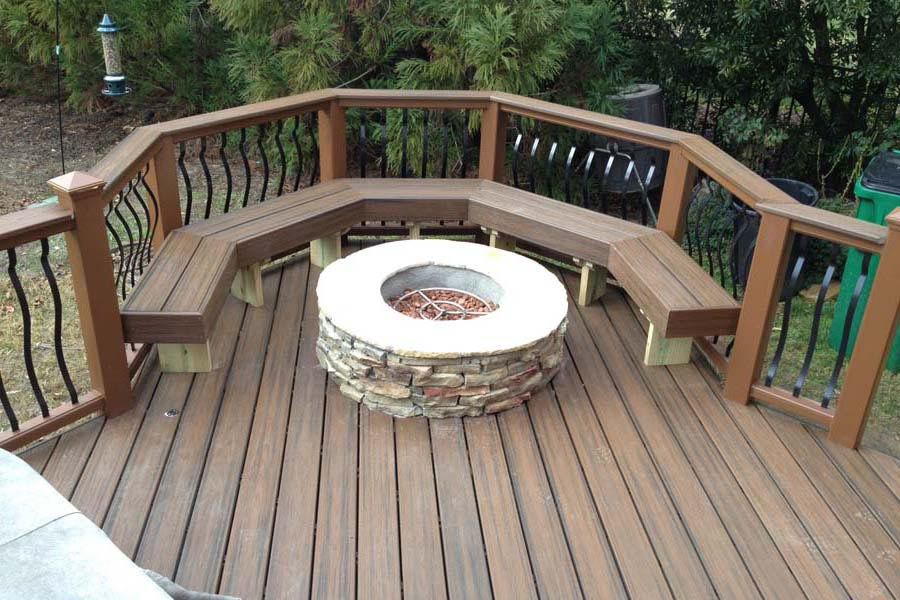 How to Make a Fire Pit Table