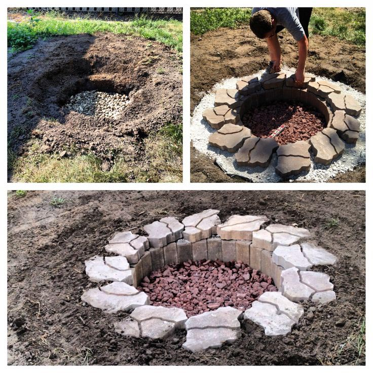how to make a fire pit fire pit design ideas