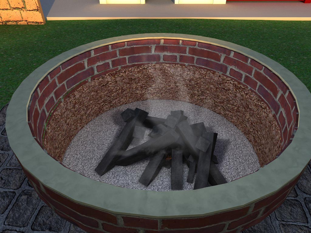 How to make an easy fire pit fire pit design ideas for Easy way to build a fire pit
